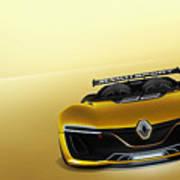 Renault Sport Spider 4k Art Print