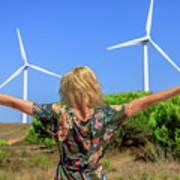 Renewable Energy Concept Art Print