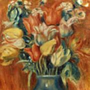 Renoir: Bouquet Of Tulips Art Print by Granger