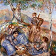Renoir: Grape Pickers Art Print