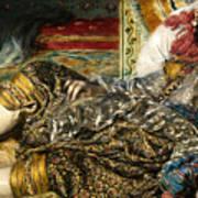 Renoir: Odalisque, 1870 Art Print
