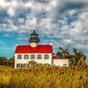 Renovated East Point Lighthouse Art Print