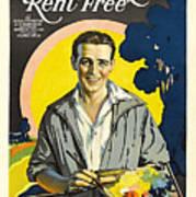 Rent Free Art Print