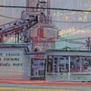 Repair Shop Art Print by Donald Maier