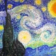 Replica Of Van Gogh Art Print