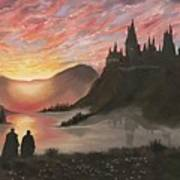 Requiem for Hogwarts Art Print