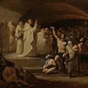 Rescue Captives In Times Of Carlos IIi Inglada Aparicio And Jose Art Print