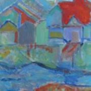 Residences Art Print