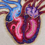Resilient Heart Art Print