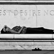 Rest Desire Not Art Print