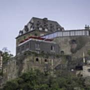 Restaurant At Rheinfels Castle Art Print