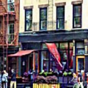 Restaurant In Chelsea Art Print
