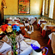 Restaurant In Red Bank 2 Art Print