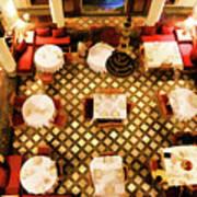 Restaurant Palais Des Merinides Fes Morocco Paint  Art Print