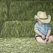 Resting Art Print