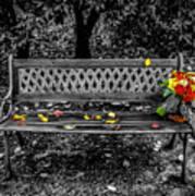 Resting Flowers Art Print