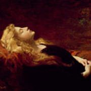 Resting Art Print by Victor Gabriel Gilbert