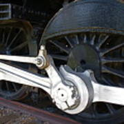 Retired Wheels Art Print