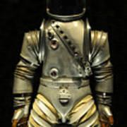 Retro Astronaut Art Print