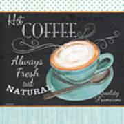Retro Coffee 1 Art Print