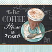 Retro Coffee 2 Art Print