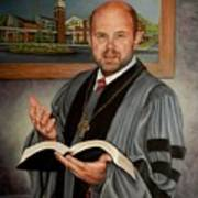 Rev. Jeff Garrison Art Print
