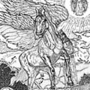 Revelation   Return Of The King Art Print by Glenn McCarthy Art and Photography