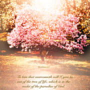 Revelation Tree Of Life Art Print