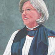 Reverend Mary Gregorius Art Print