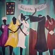 Revival Night Art Print