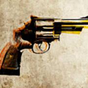 Revolver Art Print by Michael Tompsett