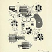 Revolving Fire Arm-1881 Art Print