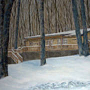 Rex Cabin Art Print