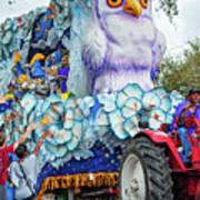 Rex Mardi Gras Parade Iv Art Print