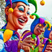 Rex Mardi Gras Parade Xi Art Print