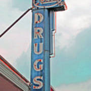 Rexall Drugs Art Print