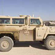 Rg-31 Nyala Armored Vehicle Art Print