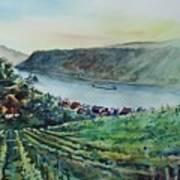 Rhine Valley Art Print