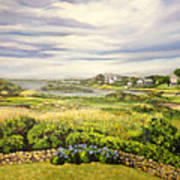 Rhode Island Coast Art Print