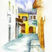 Rhodes Greece Art Print