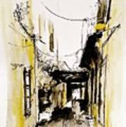 Rhodos City Art Print