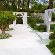 Rhs Chelsea Beauty Of Islam Garden Art Print