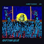 Rhythm Blue Art Print