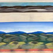 Rhythm In Landscape Art Print