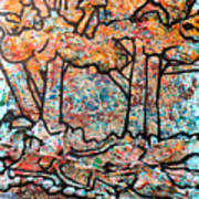 Rhythm Of The Forest Art Print