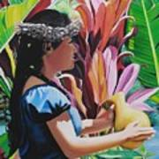 Rhythm Of The Hula Art Print