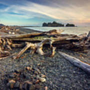 Rialto Beach Washington Art Print