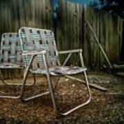 Ribbon Chairs Art Print