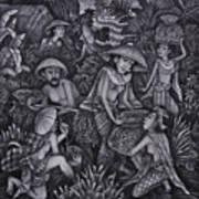 Rice Fields 2  Art Print