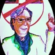 Richard Dawkins Loves To Preach Art Print